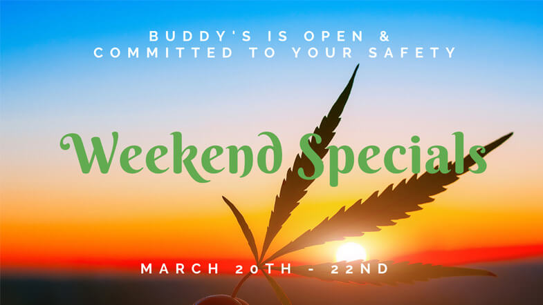march weekend specials