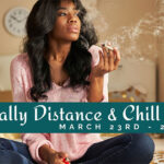 social distance and chill