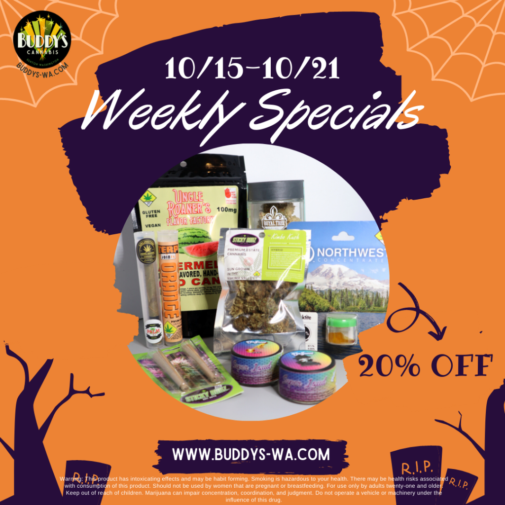 Buddy's Weekly Specials